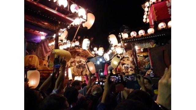 2018年 10月21~23日 川越祭りの押し合い
