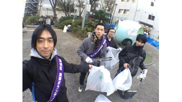 2019年 1月10~12日 渋谷掃除第二回