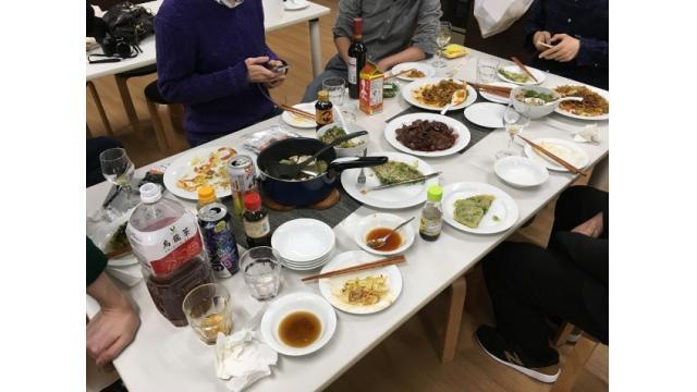 2019年 1月25~27日 豪華な料理のニー株新年会
