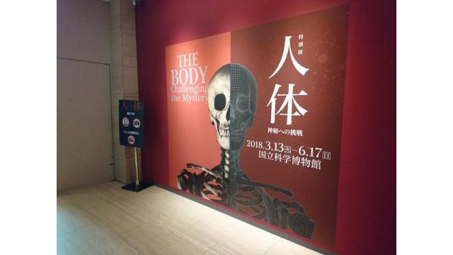 第6回文化レクリエーション…特別展「人体-神秘への挑戦-」