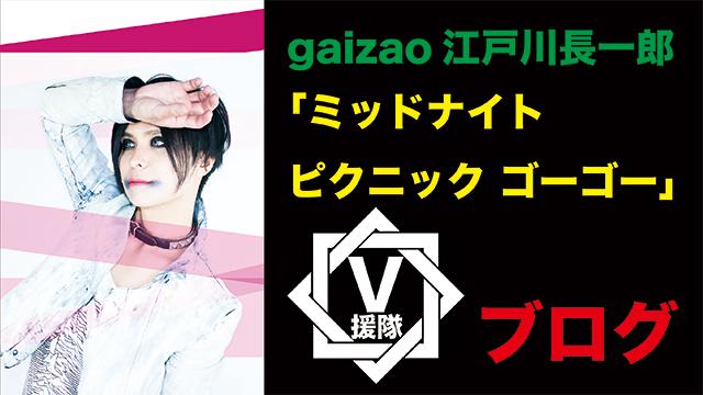 gaizao 江戸川長一郎 ブログ 第ニ回「ミッドナイト ピクニック ゴーゴー」