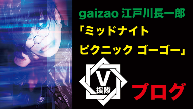 gaizao 江戸川長一郎 ブログ 第八回「ミッドナイト ピクニック ゴーゴー」