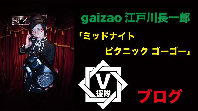 gaizao 江戸川長一郎 ブログ 第二十二回「ミッドナイト ピクニック ゴーゴー」