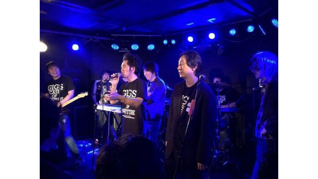 """【多数のご来場に感謝!】「""""GIGS"""" CASE OF NO FUTURE」ライブレポート!"""