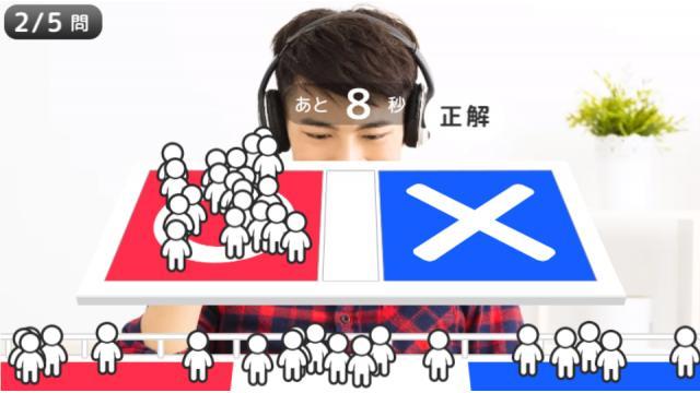 【4/4】勝ち抜き「○✕クイズ」ほか掲載