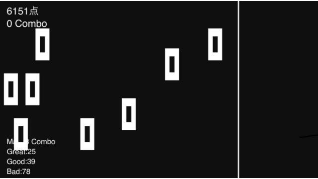 【6/3】自作ゲーム「シンプル音ゲー」紹介