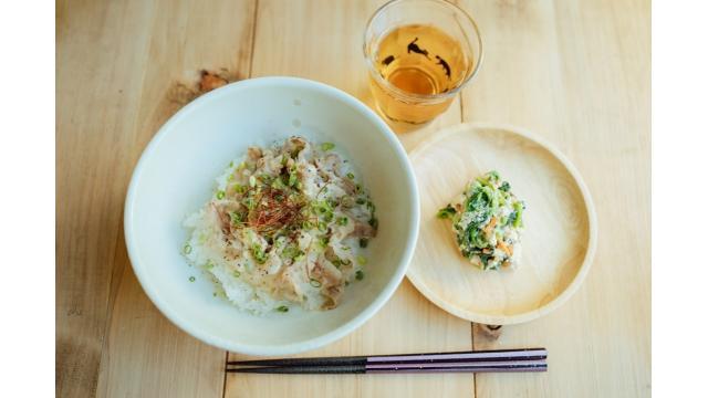 【20190903】塩豚丼・白和え