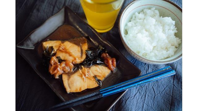 【20190926】鯖の梅煮
