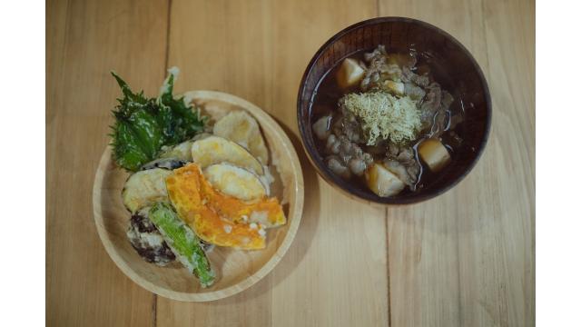 【20191218】肉吸い・野菜の天ぷら