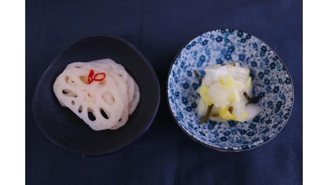 【20200125】酢れんこん・白菜の浅漬け