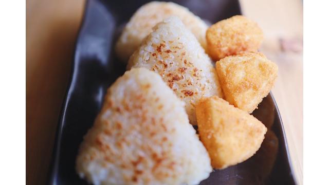 【20200218】焼きおにぎり・カマンベールチーズフライ