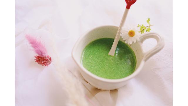 【20200318】ほうれん草のクリームスープ
