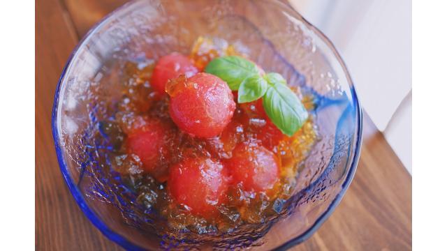 【20200702】丸ごとトマトのジュレ