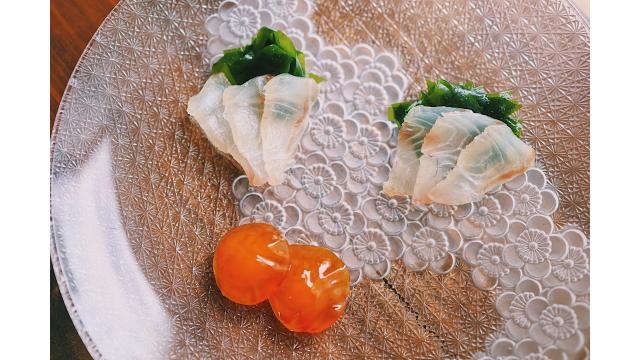 【20200728】鯛の昆布締め・黄身の味噌漬け