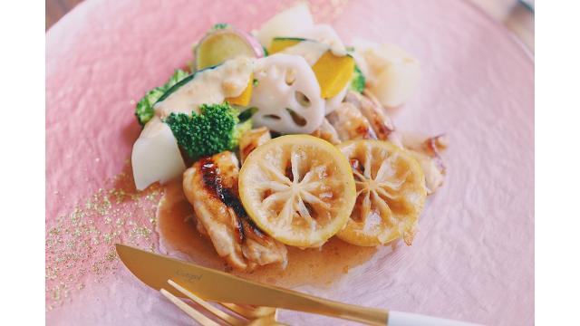 【202001007】チキンの塩マリネソテー・温野菜サラダ