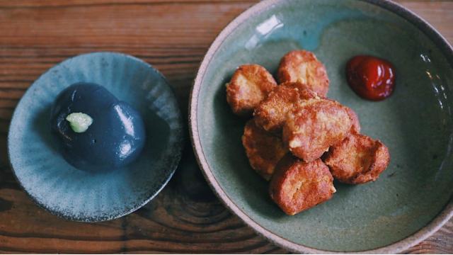 【20210812】鶏おからナゲット・ごま豆腐