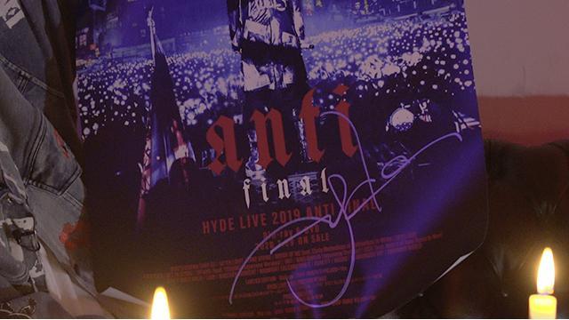 【会員限定】HYDE直筆サイン入りポスタープレゼントのお知らせ【7月29日(水)放送分】