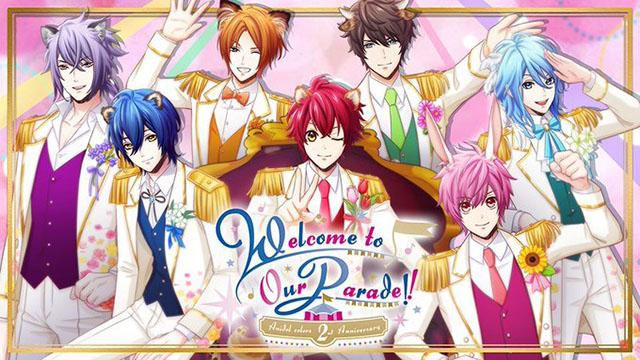 【先行抽選開始】アニドル2周年記念イベント『Welcome to Our Parade!!』