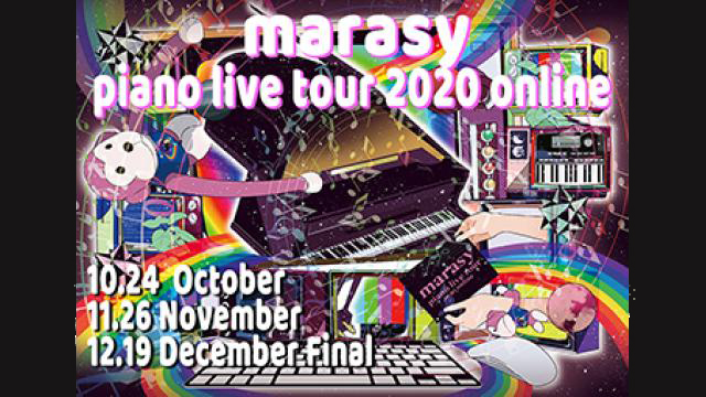 marasy piano live tour 2020 online