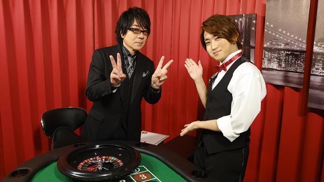 【レポート】『声優ジャックポット』#1 声優・速水奨・菊池勇成がカジノスタイルでお届けする新番組がスタート!