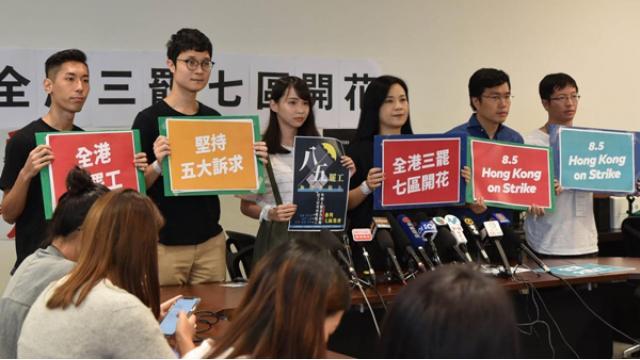 過激化する香港デモの真実|周庭