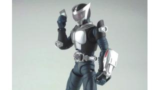 今週の宇野コレクション:S.H.フィギュアーツ 仮面ライダー龍騎 (ブランク体)