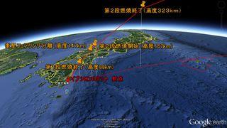 【取材レポート】イプシロンロケット見学と飛行経路