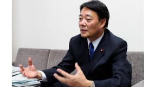 【第7回】政治家に訊く:海江田万里