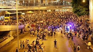 """緊迫の香港「雨傘革命」実は""""ゆるふわデモ""""だった!"""