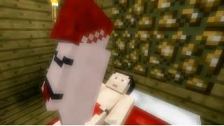 【ちょいエロ?】『Minecraft』で作ったベタな再現ポルノ