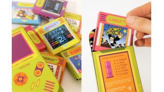 【11PM】ゲームボーイ風なコンドームのパッケージデザイン