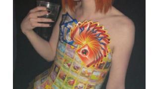 トレードしたい! ポケモンカードで作られたドレス