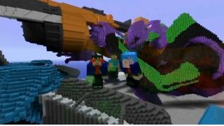 ヤシマ作戦を完璧再現! 『Minecraft』で作られたエヴァンゲリオンが凄過ぎる