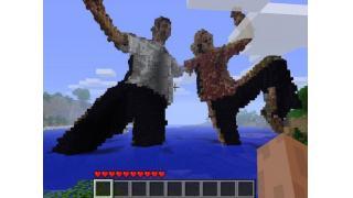 Kinectハック×『Minecraft』で自分の姿をお手軽レンダリング
