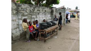 コンゴ民主共和国の素朴なゲーセン事情