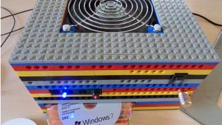 汎用性高すぎだろ! ケースがレゴでできたカスタムPC