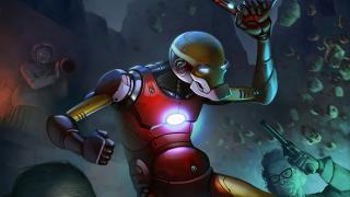 スーツも合わせて老化? もしもアイアンマンことトニー・スタークが老人になったら
