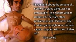 『バイオショック』クリエイターが語る、ゲームキャラを裸にしちゃいけない理由