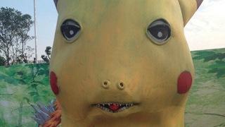 中国発:アニメフェスに展示されたピカチュウが...悪夢に出るほど怖すぎる! (ギャラリーあり)