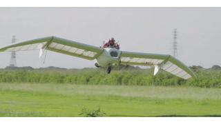 ナウシカのメーヴェが完成!? ジェットエンジン搭載の新型グライダー『M-02J』