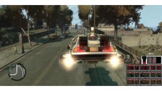 デロリアンでタイムトラベルが可能に!? 『バック・トゥー・ザ・フューチャー』を再現する『GTA IV』のMOD