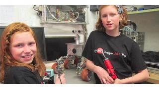 少女よ科学に萌えろ! 13歳と11歳の姉妹が作った「火星探査ローバー」が凄すぎる