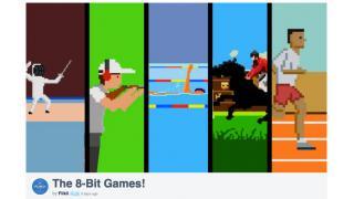 ファミコン画面の中にオリンピック!? 超8bitな動画が超COOL!