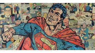 リサイクル・アート! アメコミを再構成したヒーロー&ヴィランのコラージュが素敵すぎる