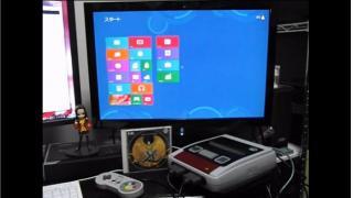 レトロゲーム機『スーパーファミコン』をPCに改造して「Windows 8」を入れてみた動画