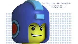 レゴになった『ロックマン』! 特殊武器まで再現したファン製CGアート