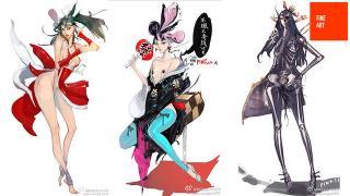 【閲覧注意】美しく、エロく、とにかくカッコ良い! 中国人アーティストが描く不知火舞など