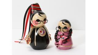 おみやげ風のお人形さんになったベヨ姐さん