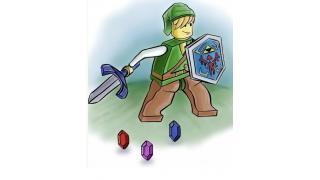 LEGOゲーム化はないであろうゲームをLEGO化してみたイラスト