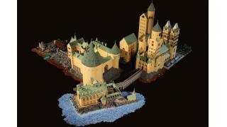 部屋の細部まで再現。レゴ作りのホグワーツ魔法魔術学校